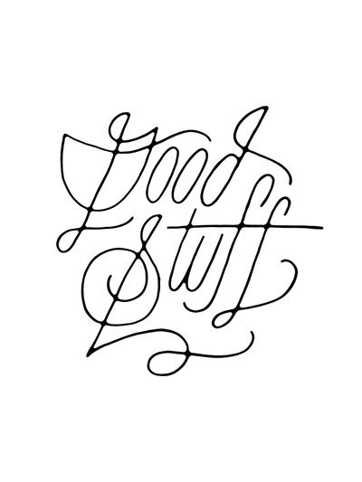 Good Stuff Art Print