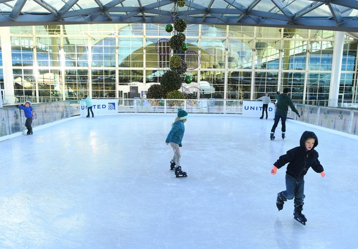 Denver International Airport is working to become a destination — with ice skating and goat yoga — in and of itself - The Denver Post