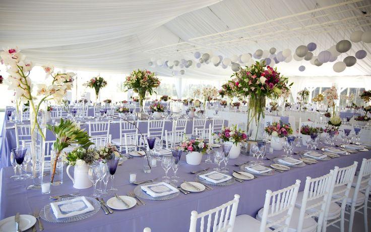 A real life wedding at Kurland in Plettenburg Bay by Wedding Concepts #reallifewedding #luxurywedding #southafricanwedding #purple #wedding #country #glamour