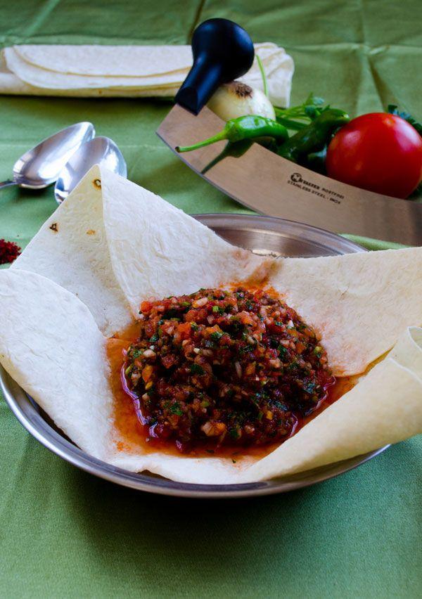 Turkish Ezme Salad3 Turkish Spicy Ezme Salad