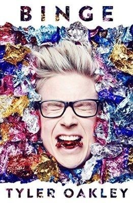 """Binge"", by Tyler Oakley - For someone who made a career out of over-sharing on the internet, Tyler Oakley has a shocking number of personal mishaps and shenanigans to reveal in his first book. With millions of fans clamouring for more Tyler Oakley, he delivers his best untold moments with trademark flair."