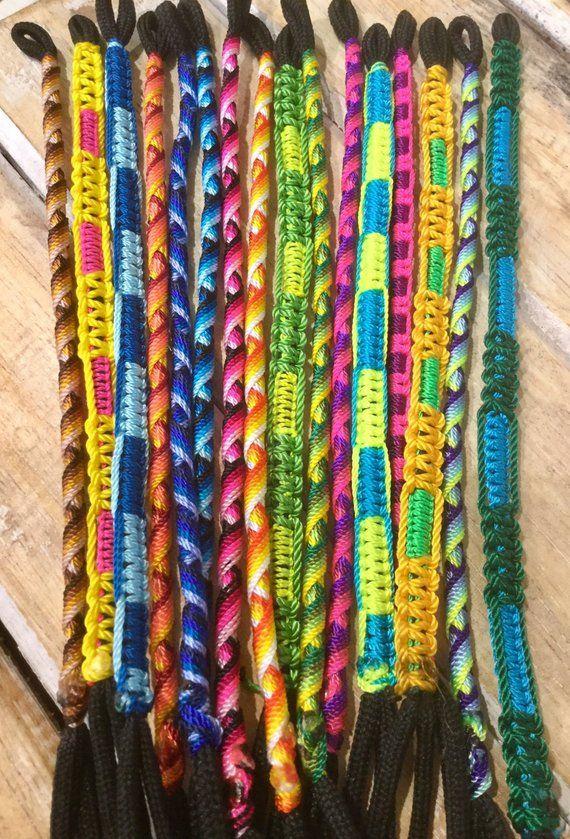 6f1857b548b Handwoven Friendship Bracelet, Round Design, Set of 3/6/12 pieces, Zig Zag  Pattern, Tie on Bracelet, Surfer, Tribal, Boho Chic Bracelets