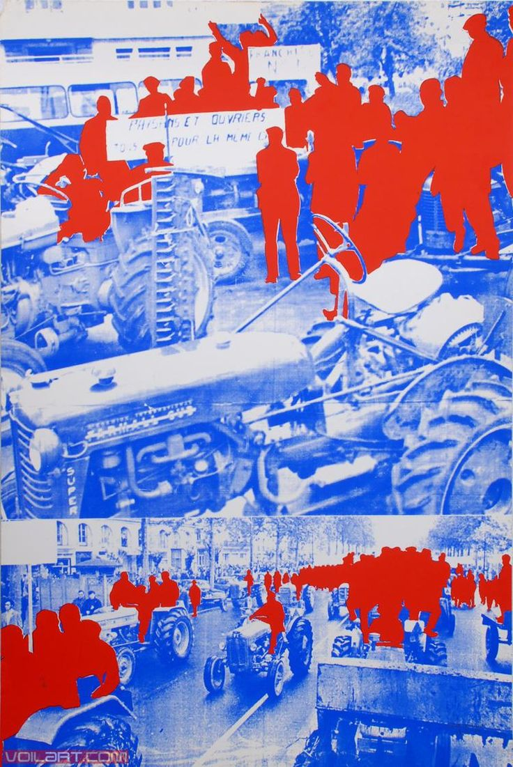 Gérard Fromanger (1939-) is een Franse kunstenaar. Een schilder, maar ook collages, beeldhouwkunst, fotografie, film en lithografie, hij is verbonden aan de Franse artistieke beweging van de jaren 1960 en 1970, Narrative een beetje zoals pop-art.