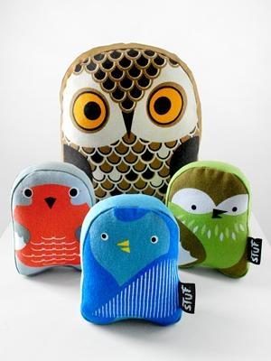 Bird Stuf Collection softies