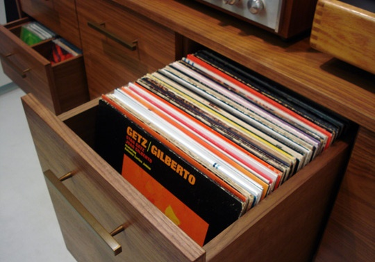 17 Best Images About Lp Record Storage Drawer On