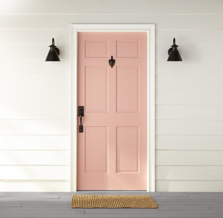High-quality Homebuilding Magazine - An Excellent Assist In Dwelling Style And Design And Design Behr Paint Reveals 2020 Color Trends Palette Painted Exterior Doors, Exterior Paint Colors For House, Paint Colors For Home, Painted Doors, House Colors, Yellow Front Doors, Front Door Colors, Dunn Edwards Colors, Yellow Paint Colors