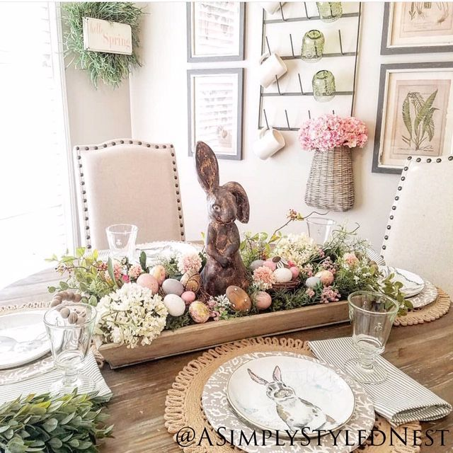 494th Inspire Me Tuesday A Stroll Thru Life Spring Easter Decor Easter Tablescapes Easter Centerpieces