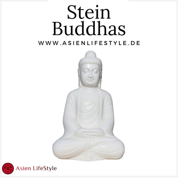 Asiatische Stein Buddha Figuren für den Garten - Pinterest ...