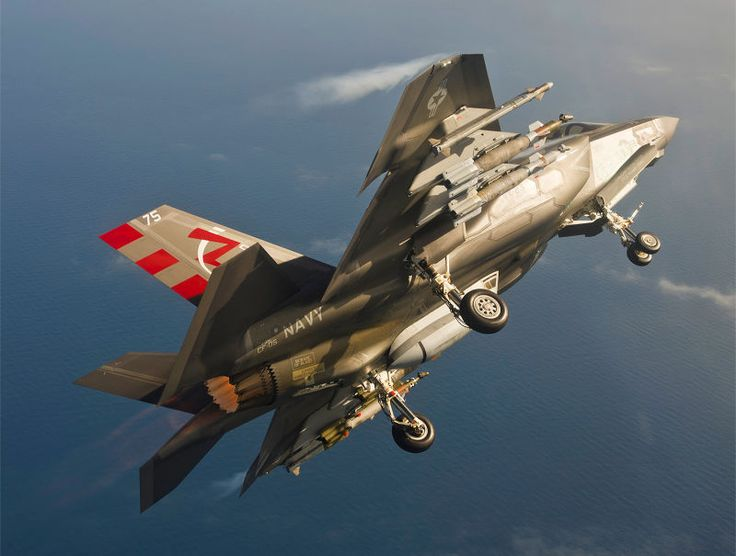 This Picture Of A Bombed-Up And Dirty F-35C Is The Best Joint-Strike Fighter Photo Yet