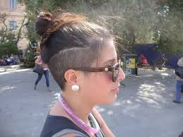Image result for female undercut long hair