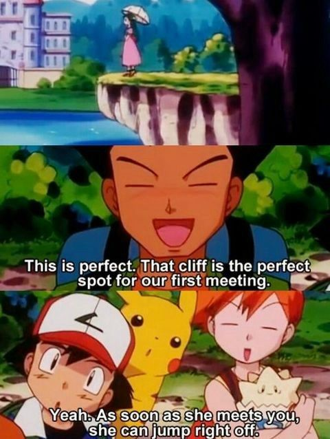 Misty May Have Been a Water Trainer, But Her Burns Are Definitely Fire Type