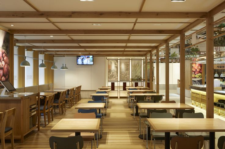 Gangnam point of Season's Table Restaurant by Sangyoon KIM / Listen communication