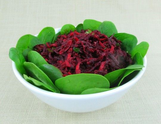 Grated Beet and Carrot Salad | Paleo AIP Veggies and Sides | Pinterest