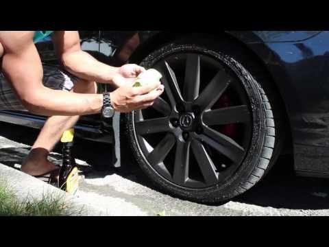 How to Plasti Dip Car Rims - Matte Black Wheels - YouTube