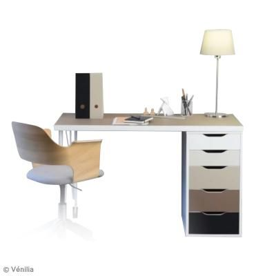 DIY Décorer votre bureau avec l'adhésif Venilia (vidéo sur creavea)
