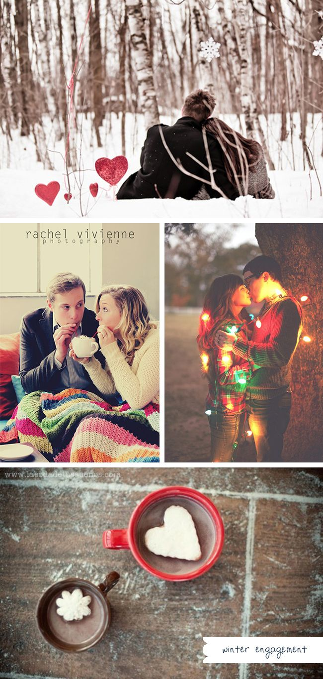 winter engagement inspiration