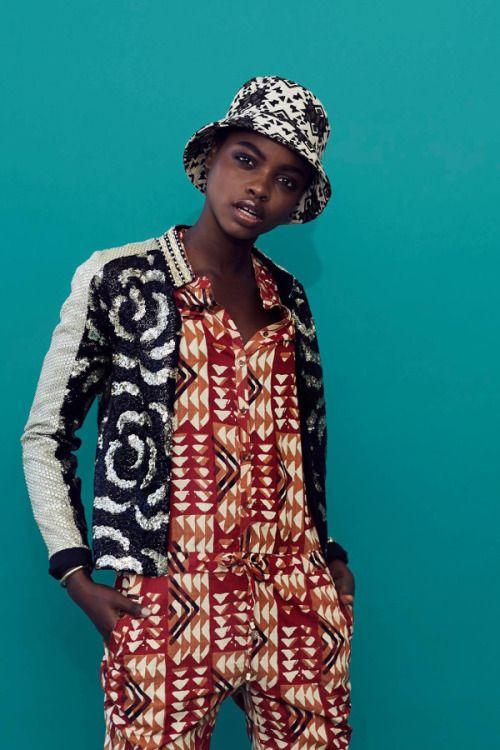 pattern clash love….. Olamide Ogundele for Kingdom