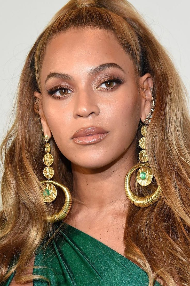 The Best Hair Colors for BrownEyed Girls Beyonce makeup