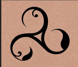 Triskele; Threefold; Triple Spiral; Triskelion;