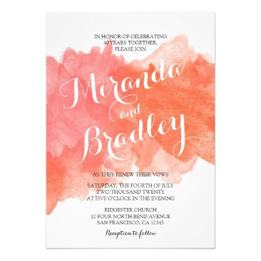 21 best Wedding Vow Renewal Invitations images on Pinterest Vow