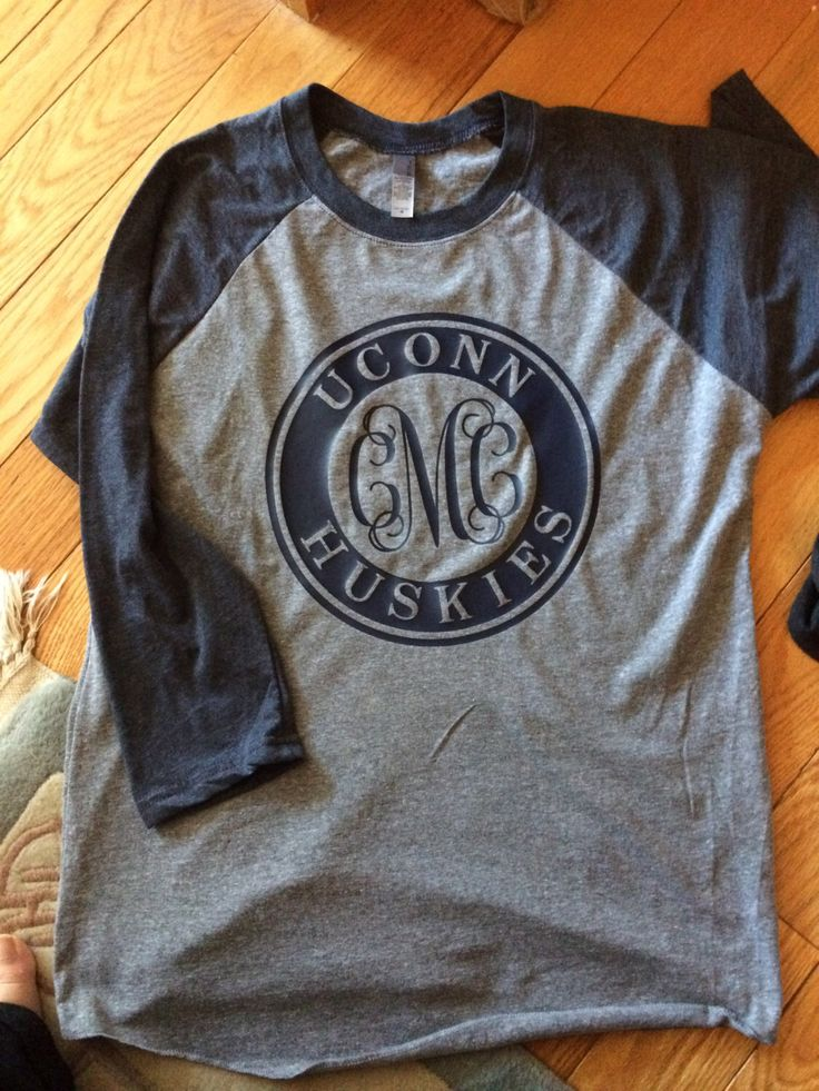UCONN College Framed Monogram Tee, Huskies, Baseball Tee, Tank, Long Sleeve, Short Sleeve, Connecticut, University of Connecticut by ItsASignDesignsbyJen on Etsy https://www.etsy.com/listing/280533898/uconn-college-framed-monogram-tee