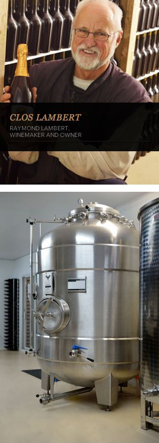 """Raymond Lambert testimonial - #Winemaker and owner - Clos Lambert - """"The appearance of the La Garde tanks gets your attention. Aesthetics seems to be a major preoccupation for their manufacturer. After using the tanks for a while, one realises that their practicality is just as developed. La Garde wine tanks are effectively made to facilitate the cellar master's work and enhance efficiency."""" http://www.lagardeinox.com/en/realisations  #LaGardeInox #WineTanks #winemaking"""