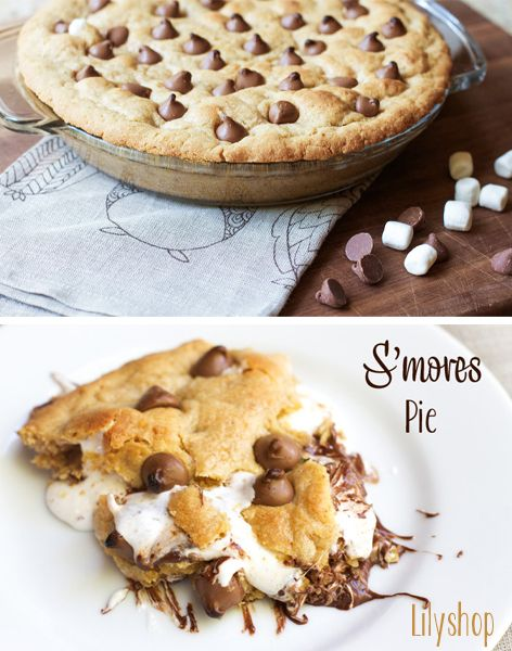 S'mores Pie. I like pie!