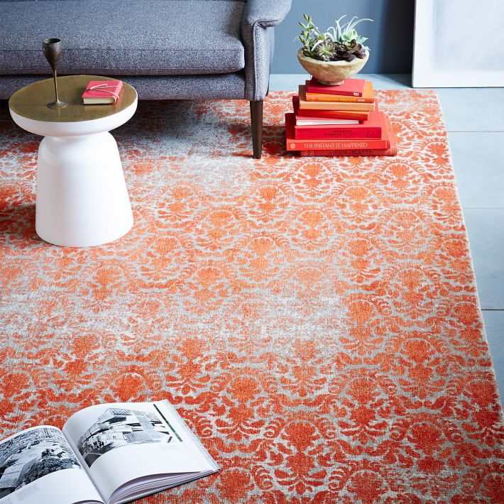 Our distressed rugs are inspired by the look of worn Turkish rugs. Get the look of vintage with a brand new rug.