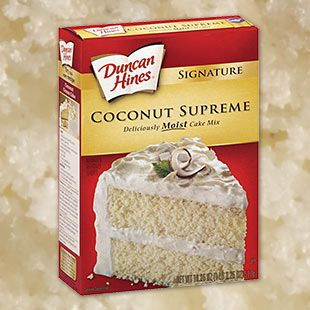 Coconut Rum Cake Using Cake Mix