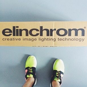 aww snap. says it on the box. time to make some creative images. #elinchrom