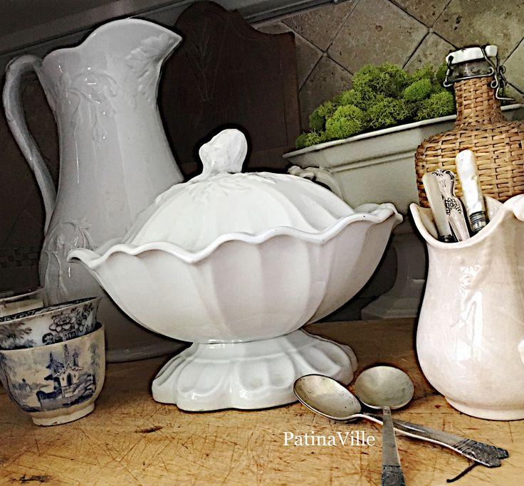261 best Ironstone and Yellowware images on Pinterest | Bone china ...