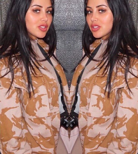 Get @marniegshore style with our #desertcamojacket 🐪