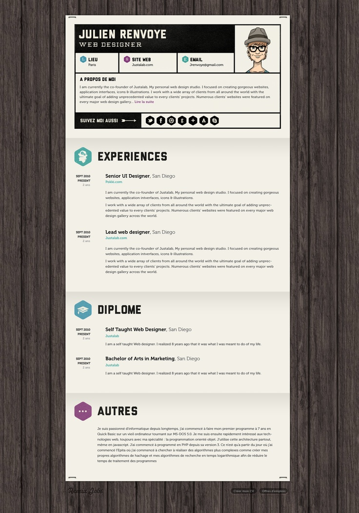 132 best cv out of the box images on pinterest resume ideas resume templates and design resume