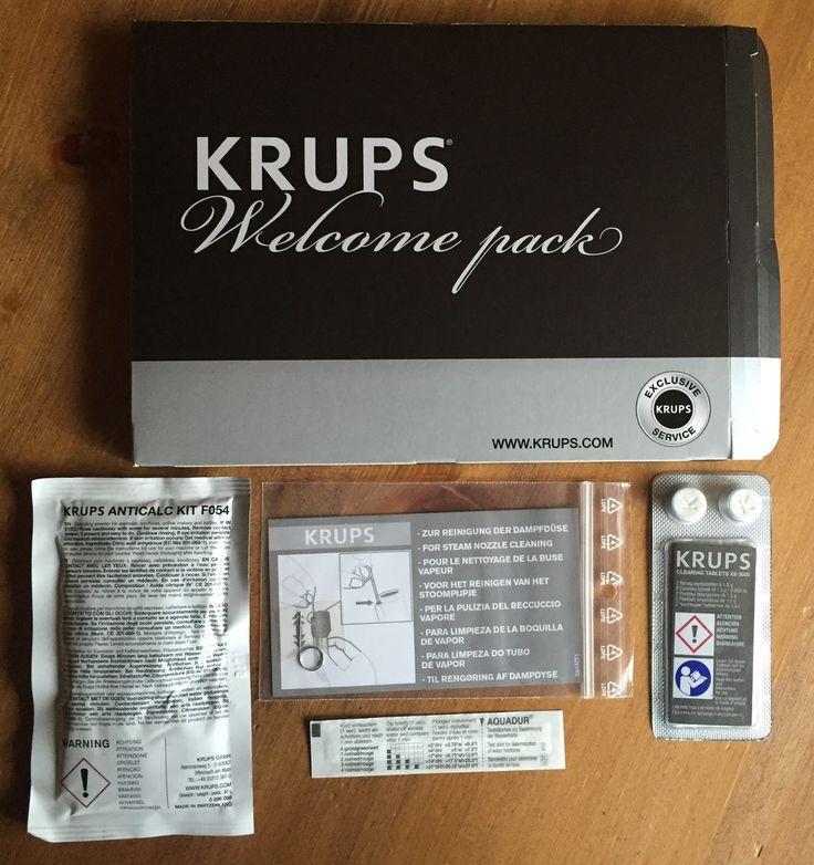 Produkttestseite von Heike: Produkttest : Krups 2in1 Touch Kaffeevollautomat EA8808 - Inbetriebnahme