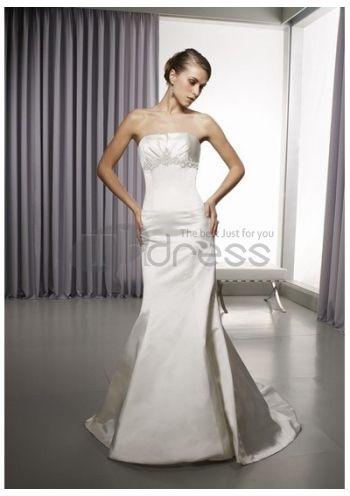 Abiti da Sposa in Pizzo-Gonna in raso sottile una linea di abiti da sposa in pizzo gonna
