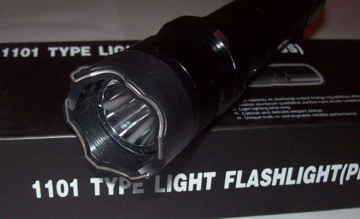 1101 Tourch Police Self-defense Electric Shock LED Flashligh....