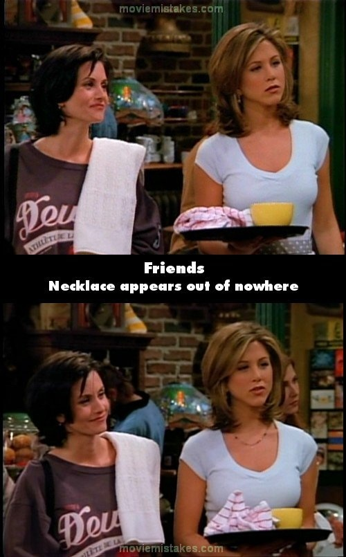 friends quotes from the show | The 20 biggest Friends mistake pictures