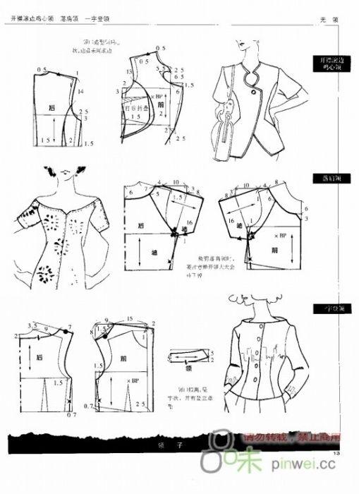 Моделирование элементов женской одежды. Комментарии : LiveInternet - Российский Сервис Онлайн-Дневников*