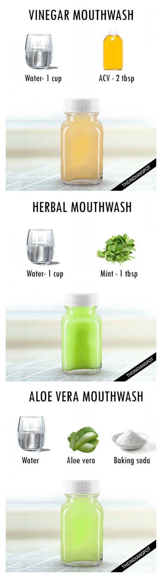 keep your breathe fresh with natural DIY mouthwash