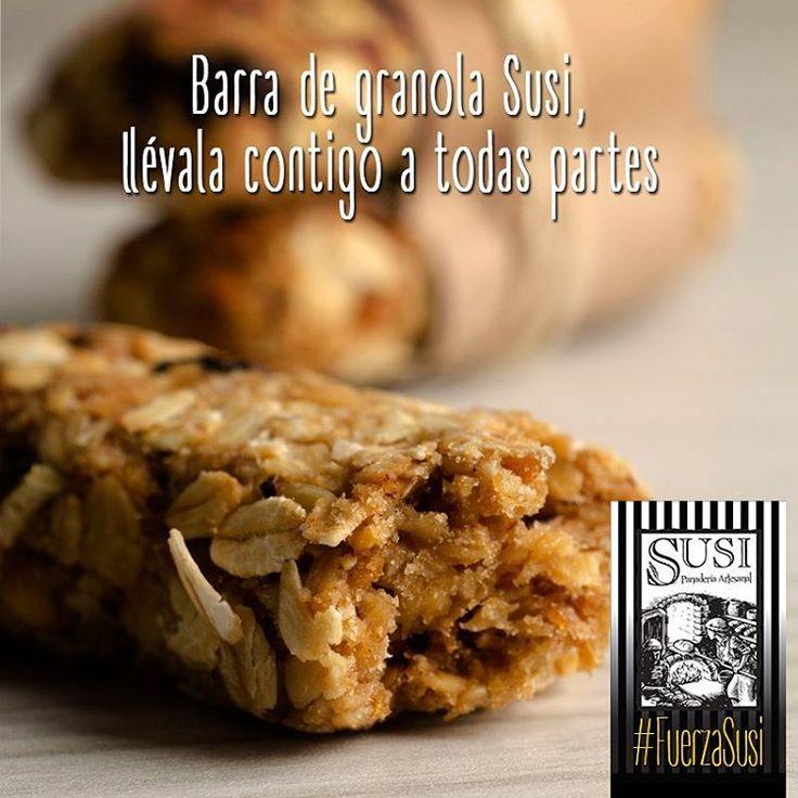 ¡Porque comer bien te hace bien! Incluye Las barras de #GranolaSusi en tu rutina, son el snack perfecto para llevar contigo a todas partes. Con cereales, nueces y miel. #SusiPanaderíaArtesanal  #FuerzaSusi #EstiloDeVidaSaludable #SnackSaludable #Susi #Granola #Cereal #Oats #Pan #Bread #Brot #Panadería #SnacksSaludables #ComidaSaludable #Cereales #FrutosSecos #Yummy #Delicious #Tasty #TradiciónAlemana #SinAditivos #Delicioso #Sano #Natural #HealthyFood #NutriciónCreativa