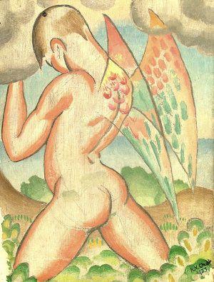 Study of an Angel - Ralph Chubb (1892-1960)