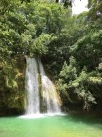 One of many waterfalls in Salto el Limon in Samana, Dominican Republic.