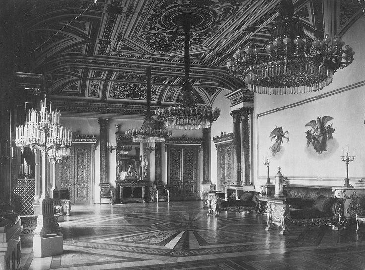 The Malachite Hall - Winter Palace.