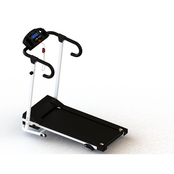 500W Folding Electric Treadmill Power Motorized Running Jogging -