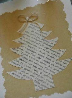 bastelideen weihnachten zeitung tannenbaum