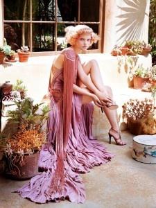 Steven Meisel photography: Jessicastam, Flappers Dresses, Italian Vogue, Steven Meisel, Jessica Stam, Pink, Stevenmeisel, Vogueitalia, Fringes