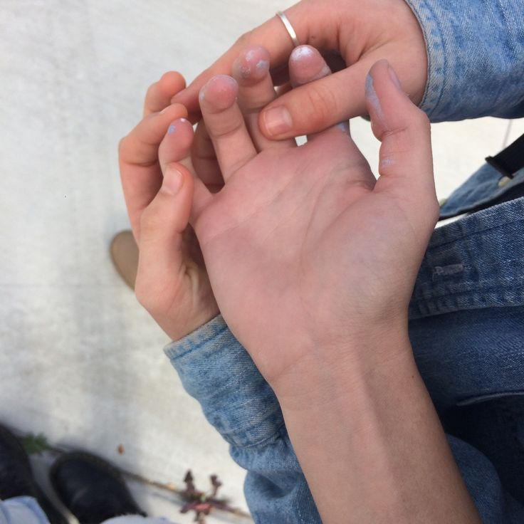 Lovers Holding Hands Beautiful