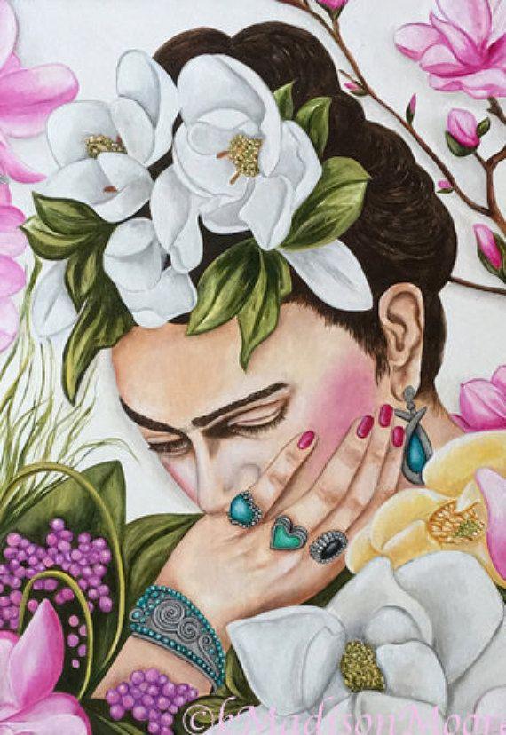 Pintura de Frida Kahlo Frida Kahlo Frida Kahlo Art Frida