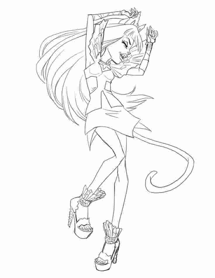 Boo York Coloring Pages Monster High Art Monster High Characters Coloring Pages