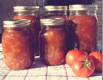 Recette de ketchup aux fruits très simple afin de faire des conserves